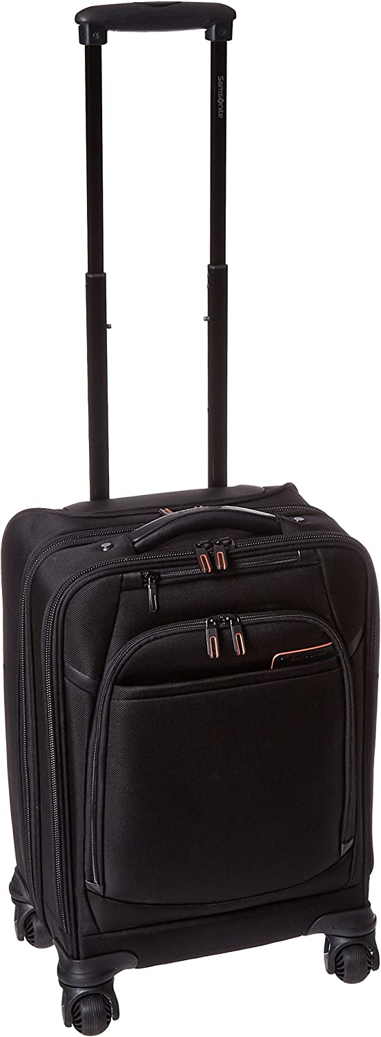 Samsonite Pro 4 DLX Upright Mobile Office, Black, One Size
