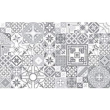 60 Stickers Adhésifs Carrelages | Sticker Autocollant Carrelage   Mosaïque  Carrelage Mural Salle De Bain Et