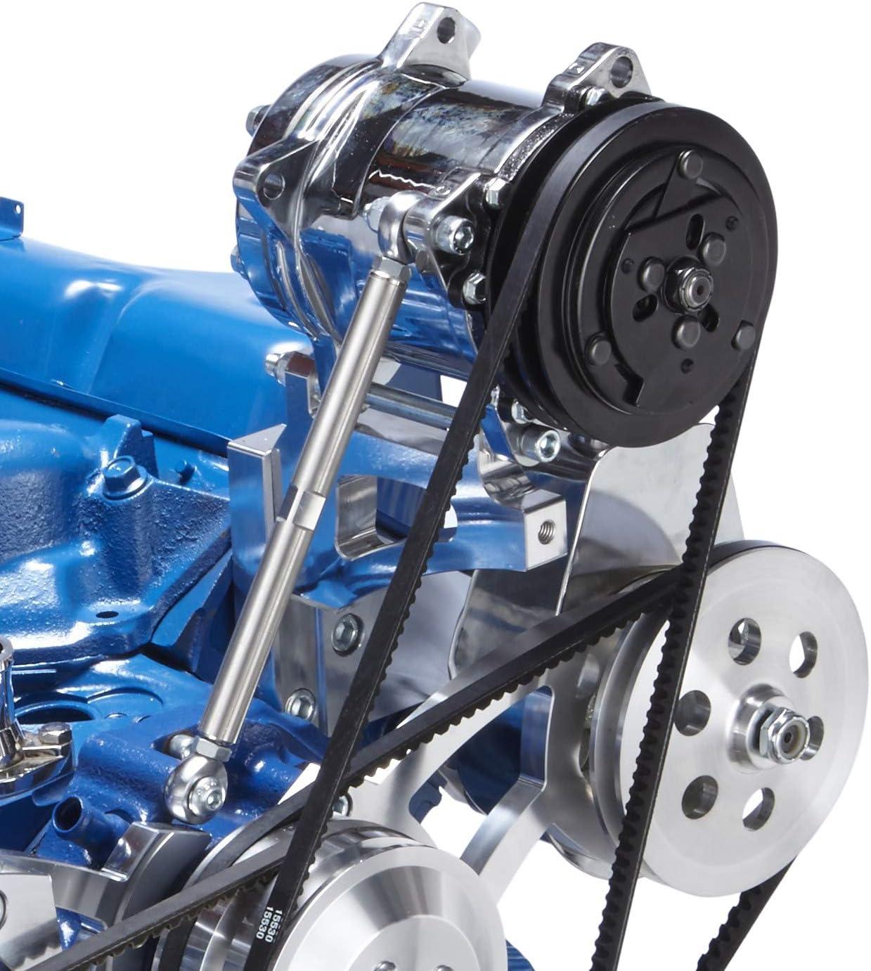 Air Conditioning Bracket for Ford 351C Cleveland - Sanden Compressor AC