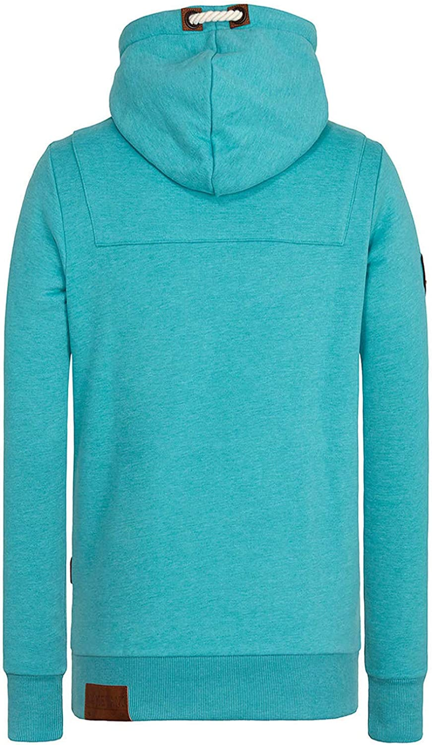 NAKETANO Lennox Hooded Sweatshirt for Men Green