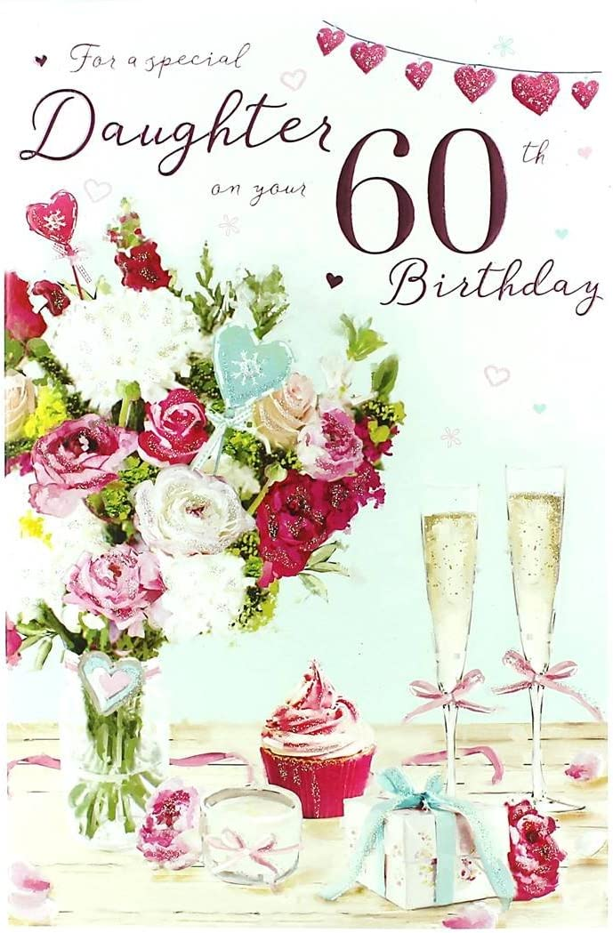Surprising For A Special Daughter On Your 60Th Birthday Amazon Co Uk Office Funny Birthday Cards Online Inifodamsfinfo