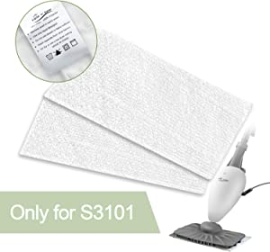 LIGHT 'N' EASY S3101 Steam Mop Pads Replacement for S3101/7326 (NOT for S3601)