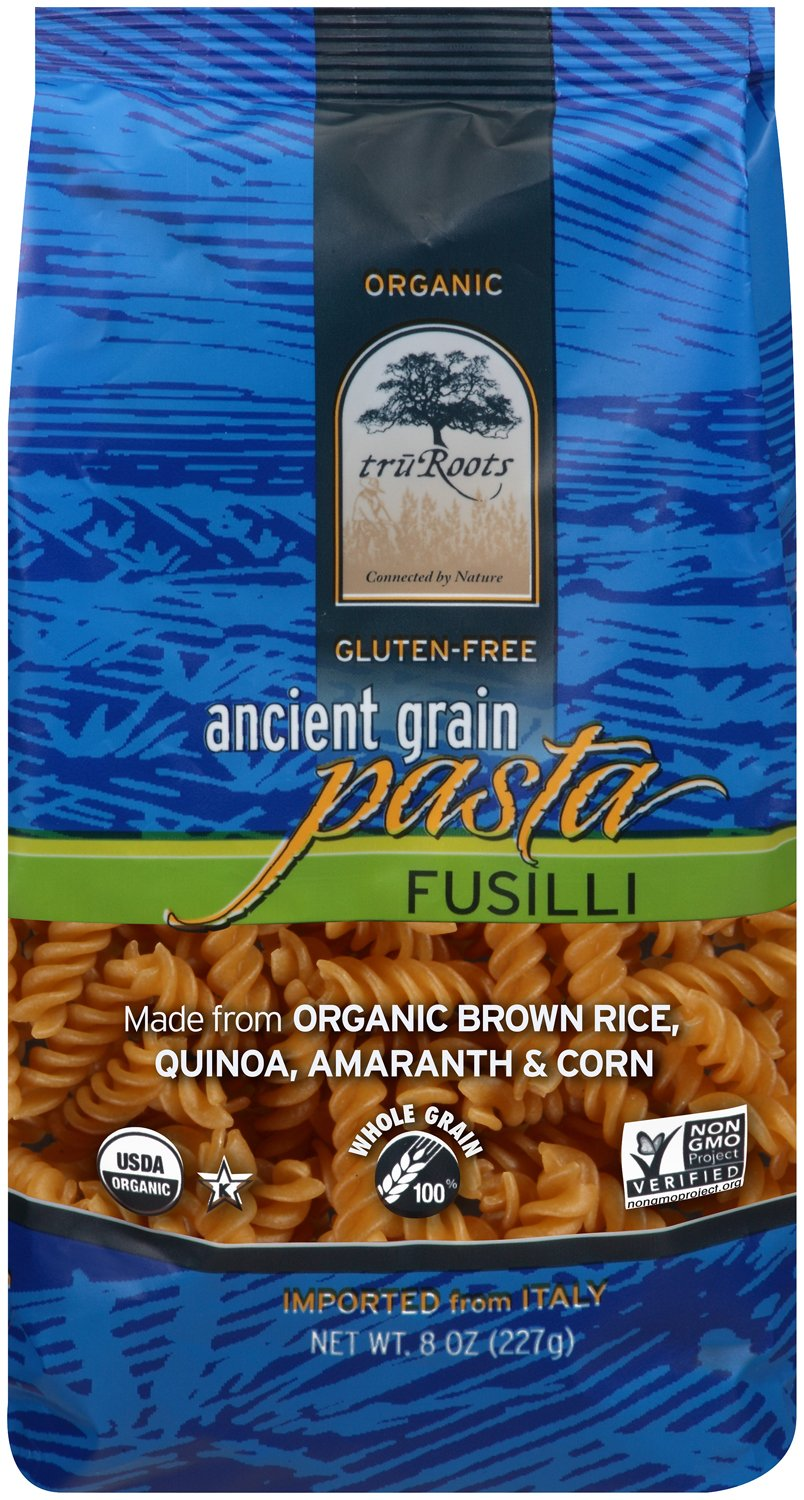truRoots Ancient Grain Fusilli Pasta, 8 Ounce (Pack of 6) by truRoots