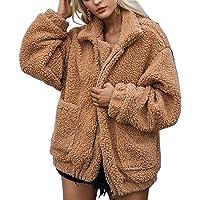Abrigos de otoño Invierno Jersey Chaqueta cálido Top Coat Casual de Las Mujeres de Invierno Outwear Parkas Outwear…