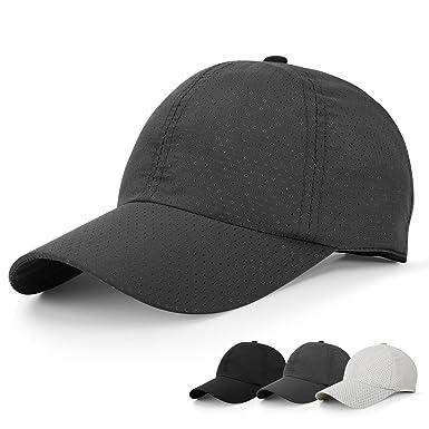 280c65cfc72 Amazon | キャップ 帽子 野球帽 メッシュデザイン レディース キャップ ...