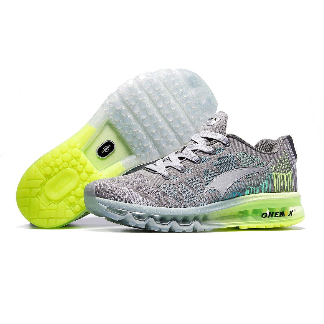 official photos 60857 93ccf ONEMIX Chaussures de Course pour Homme - 3D Knit Coussin d air Athletic  Sports Running Sneaker  Amazon.fr  Chaussures et Sacs
