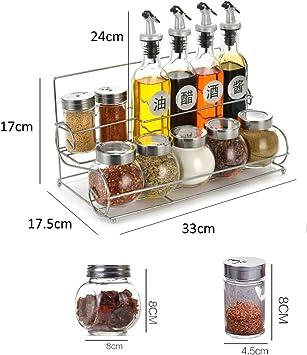 GSI Camping Mini Sel Poivre à épices épandeur Set Boîte verres Outdoor modulaire