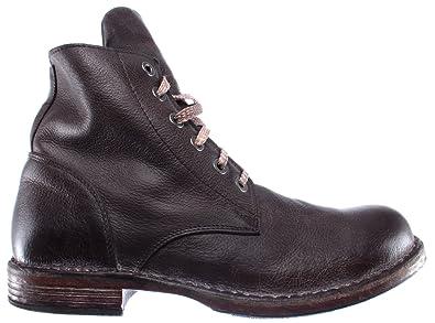 Moma Leder Herren R2 Schuhe Boot 67701 Braun Pelle Stiefel CEoQrxedBW