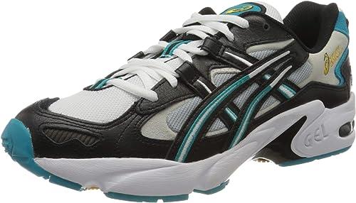 Asics Gel-Kayano 5 OG, Zapatillas de Running Unisexo, Negro/Blanco, 48 EU: Amazon.es: Zapatos y complementos