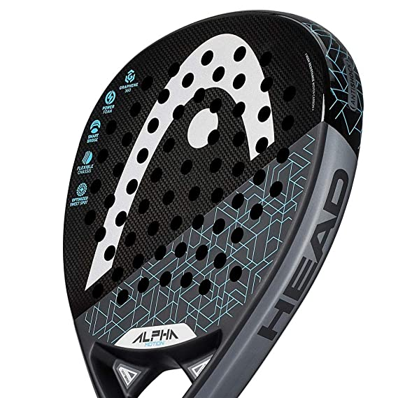 PALA HEAD GRAPHENE 360 ALPHA MOTION WITH CB 2019: Amazon.es: Deportes y aire libre