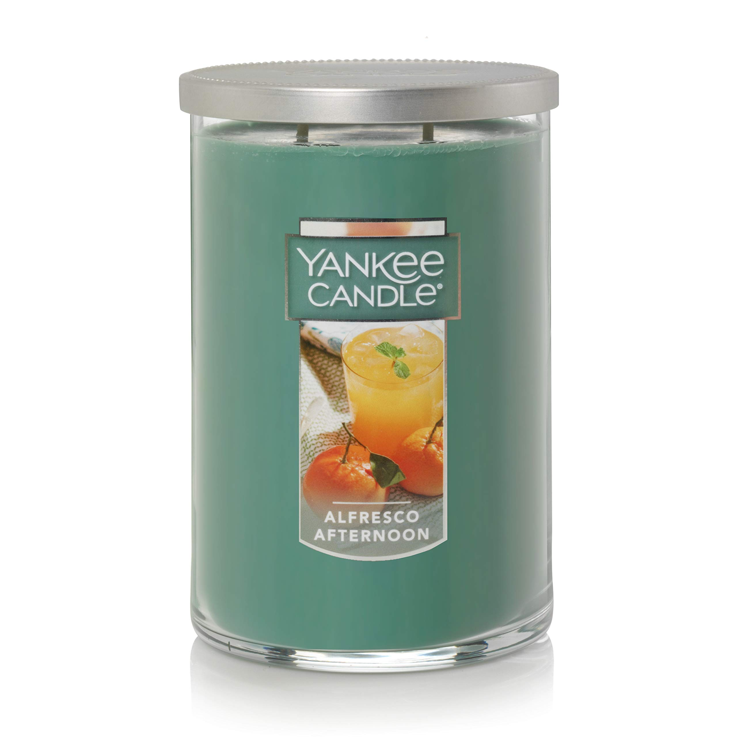 Yankee Candle Large 2-Wick Tumbler Scented Candle, Alfresco Afternoon