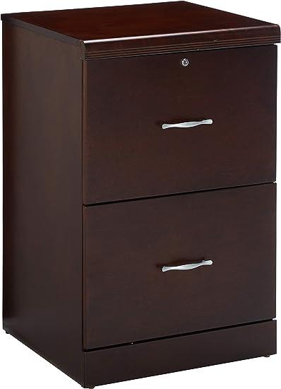 Amazon Com Z Line Designs 2 Drawer Vertical File Cabinet Espresso Furniture Decor