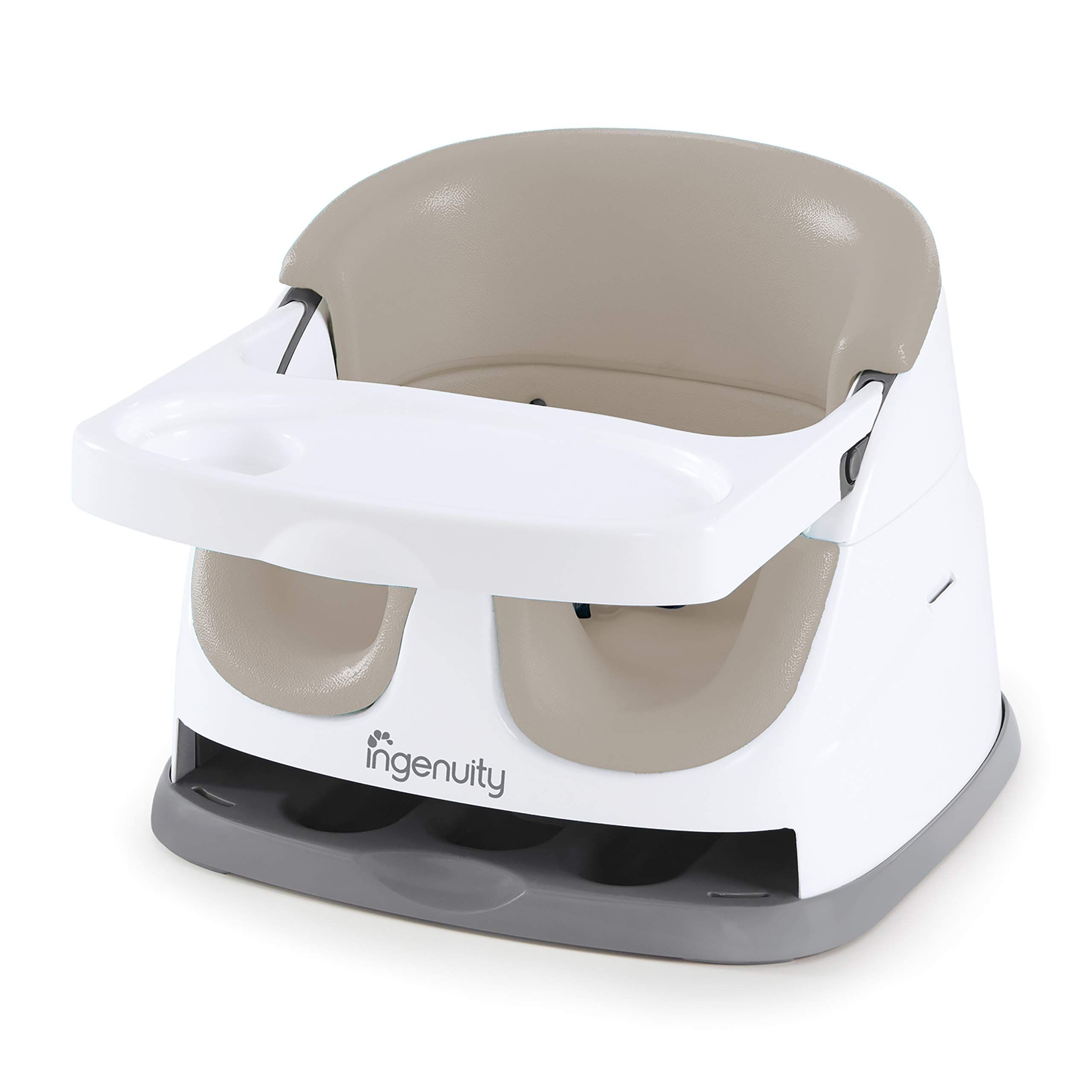 Ingenuity Baby Base 2-in-1 Seat - Cashmere - Booster Feeding Seat by Ingenuity