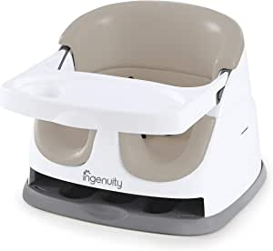 Ingenuity Baby Base 2-in-1 Booster Feeding Seat, Cashmere