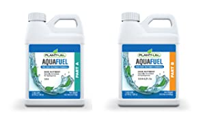 Plant Fuel Nutrients | AQUA FUEL | Two part A and B formula for hydroponics. Complete hydroponic base system. Provides all nutrients needed by plants in hydroponic systems. | Two Pack | (Quart)