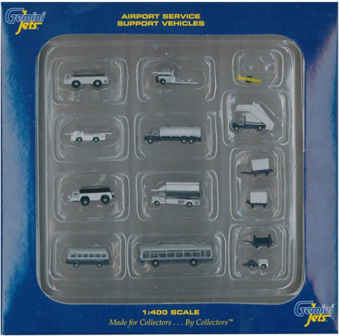 Airport Accessories GSE 1:400 Scale Police Car