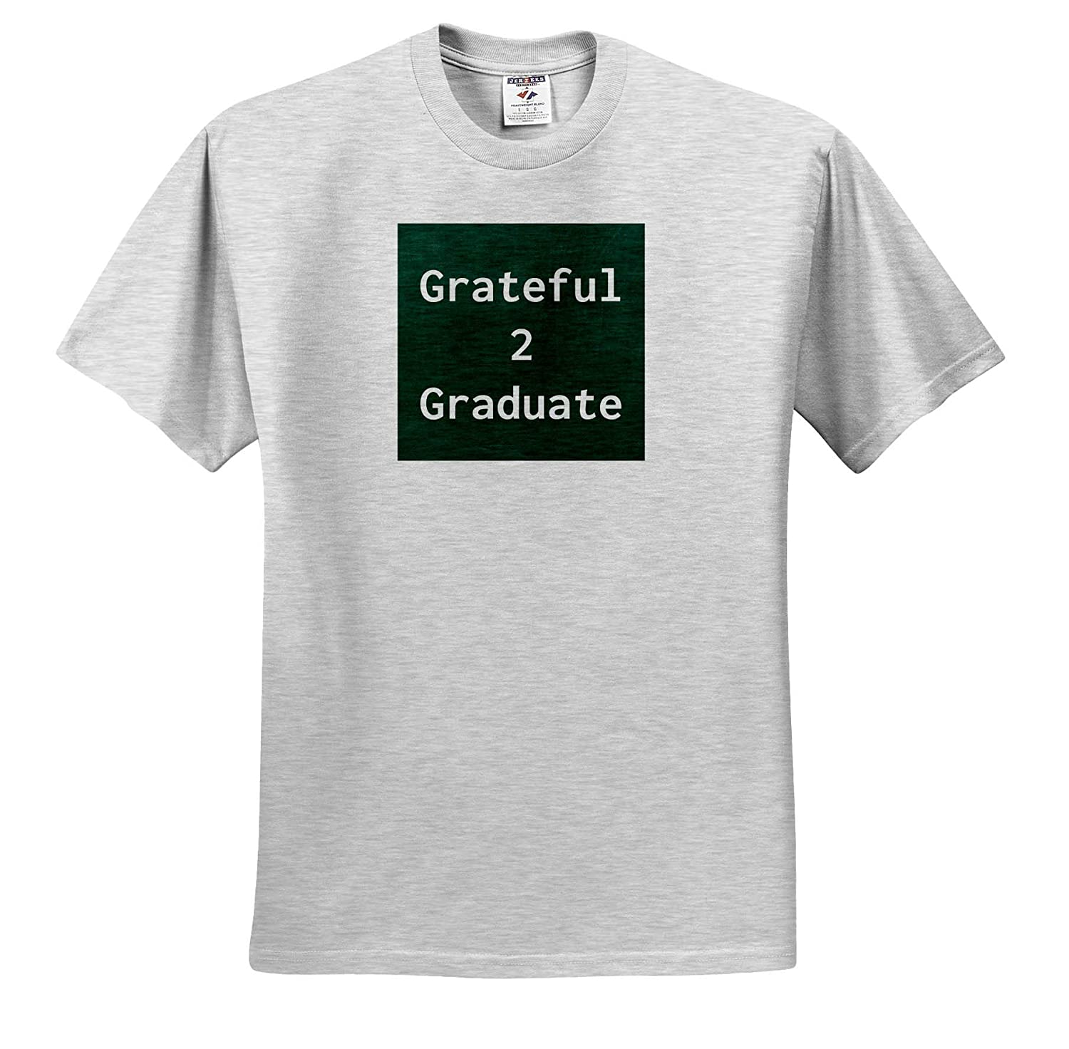3dRose Carrie Merchant Image ts/_309564 Adult T-Shirt XL Image of Grateful to Graduate