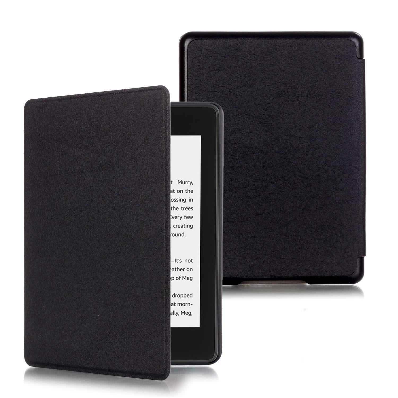 "ProElite Slim Smart Flip case Cover for All New Amazon Kindle 6"" 10th Generation 2019 [Black]"