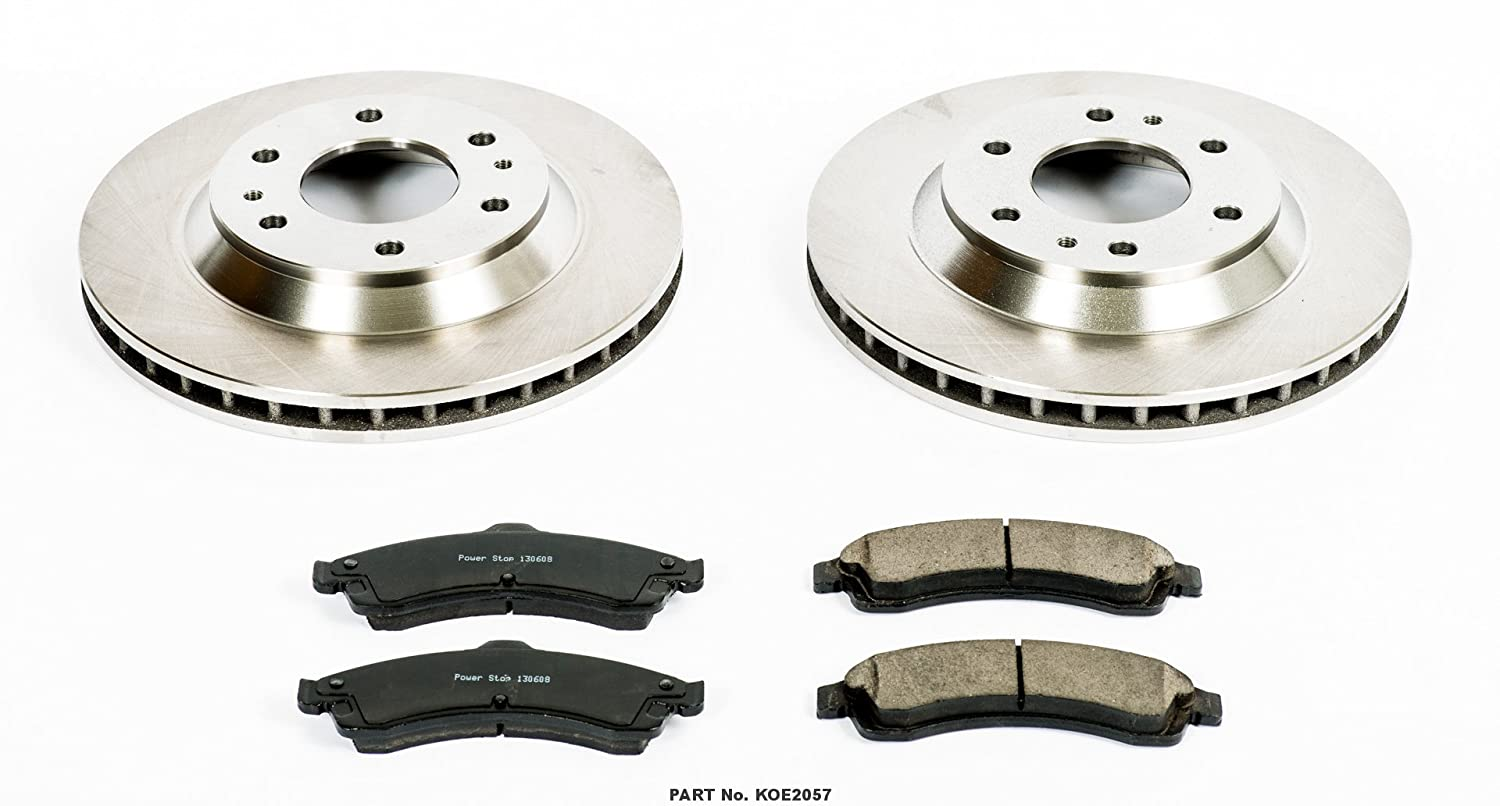 Autospecialty KOE2057 1-Click OE Replacement Brake Kit