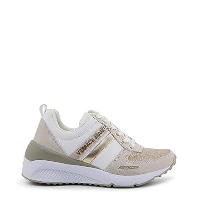 906d2e19001e3 Versace Jeans Linea Fondo Anita Dis 3 Suede Nylon Gliiter E0VRBSB270022723,  Basket - 41 EU