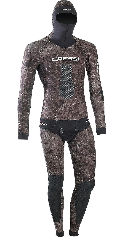 Cressi 1.8mm Tracina Spearfishing/Freediving Wetsuit, Jacket & John Full Suit