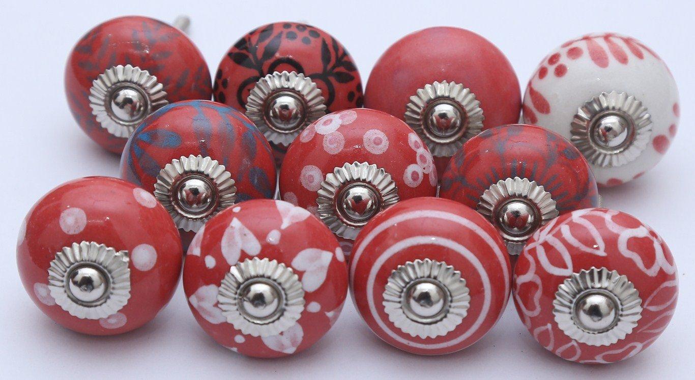 10 Tiradores de Ceramica / Porcelana (1N11IZO7)