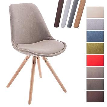 clp chaise de visiteur toulouse rembourre revtement en tissu style scandinave dossier ergonomique chaise - Chaise Scandinave Rembourree