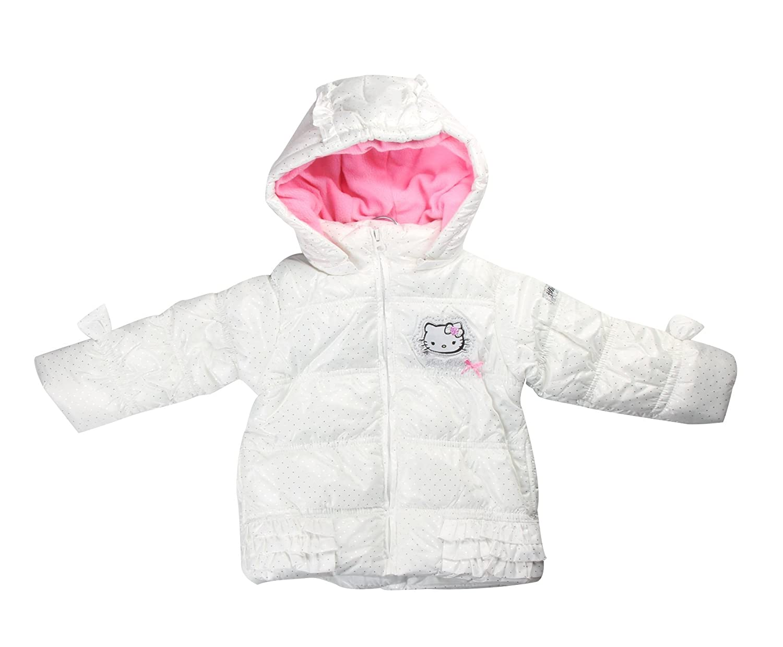Hello Kitty Piumino bianco 8 anni: Amazon.it: Abbigliamento