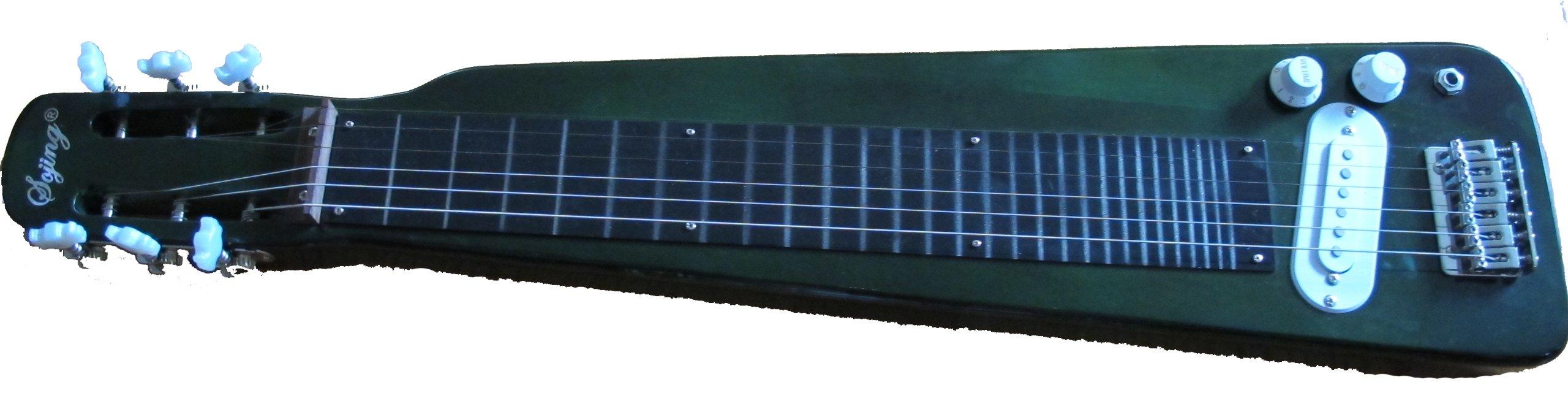 Sojing Lap Steel Hawaii Guitar(green)