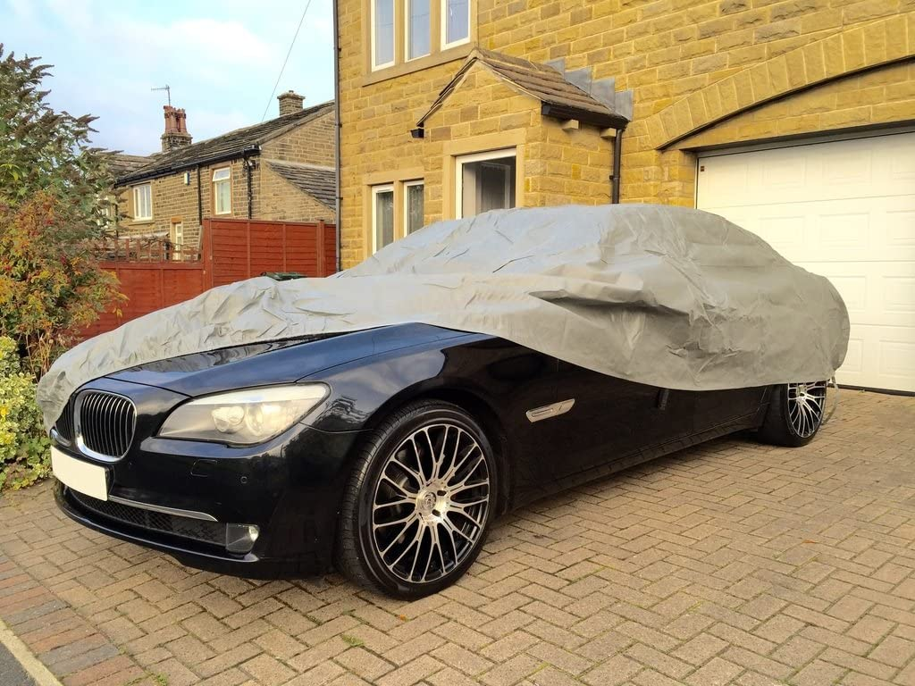 Elastic Hem BMW 6 SERIES GRAN COUPE SALOON Breathable Full Car Cover Water Resistant Double Stitched Seams
