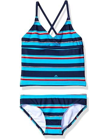 c566ff9699795 Kanu Surf Girls' Candy Tankini Swimsuit