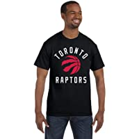 NBA Toronto Raptors Red Claw Basketball Mens Black T-Shirt
