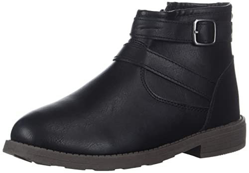 carters Girls Cindia Ankle Boot, Black, 3 M US Little Kid