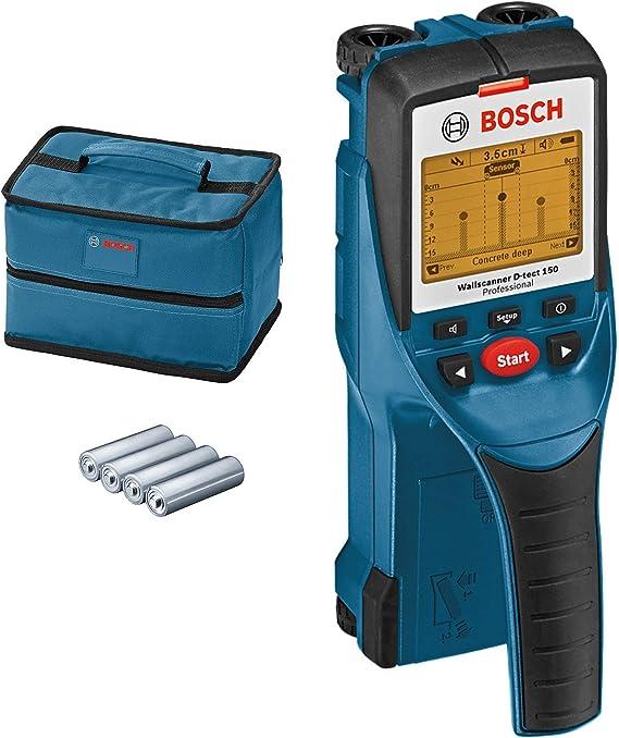 Bosch Professional 0601010005 D-tect Escáner de Pared, óptima ...