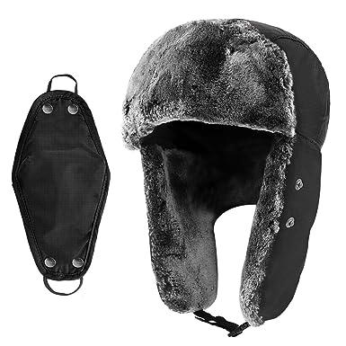 Amazon.com: Hippih Invierno Trooper Trapper sombrero caza ...