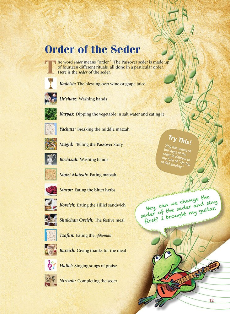 Lyric passover songs lyrics : The Family (and Frog!) Haggadah: Karen Rostoker-Gruber, Rabbi Ron ...