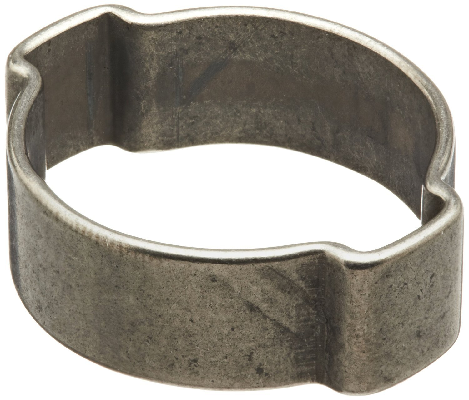 Oetiker 15100000 Stainless Steel Hose Clamp, Double Ear, Clamp ID Range 3.1 mm (Closed) - 4.1 mm (Open) (Pack of 400)