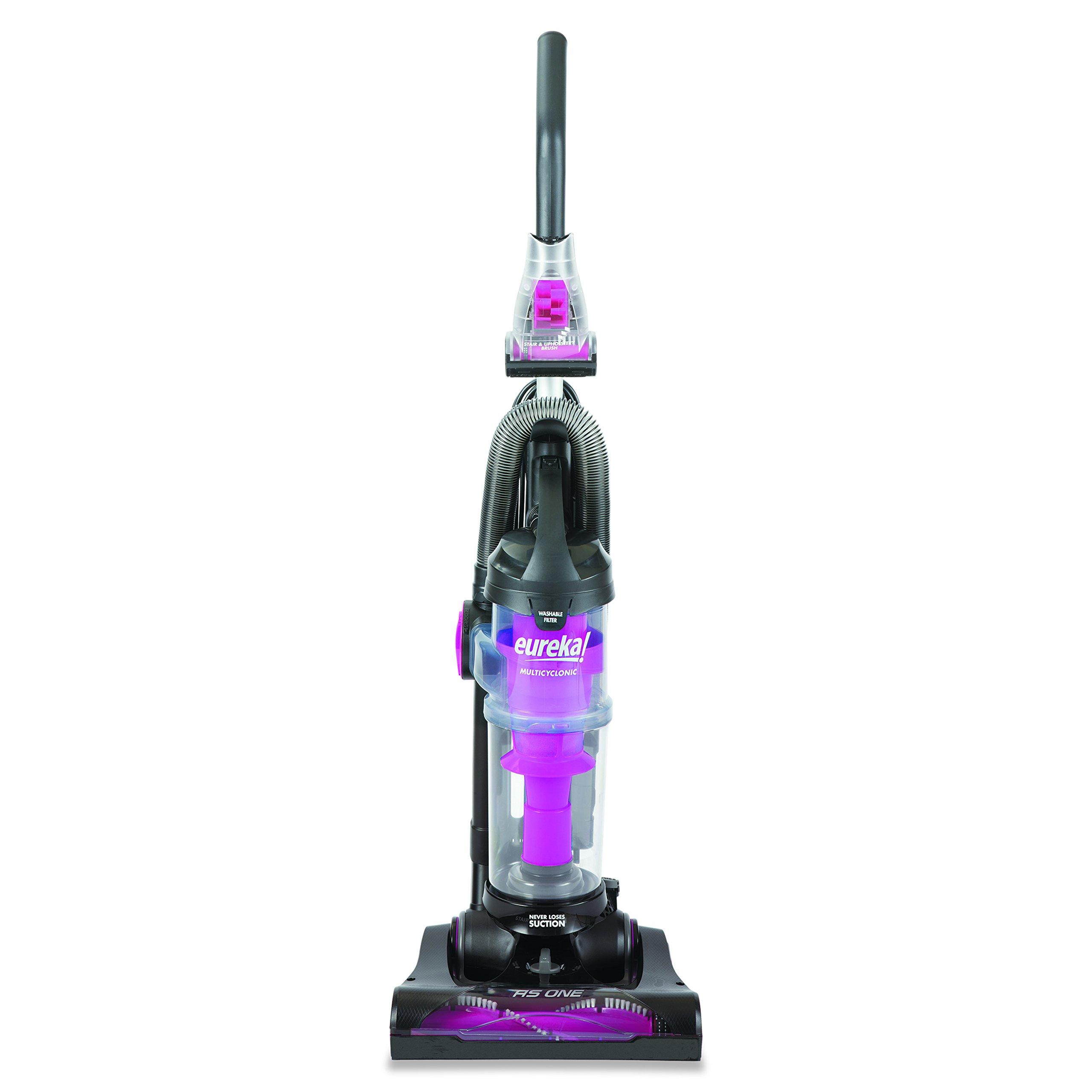 Eureka AS2113A AirSpeed ONE Bagless Upright Vacuum, 10 amp, 8 lbs, Black/Blue