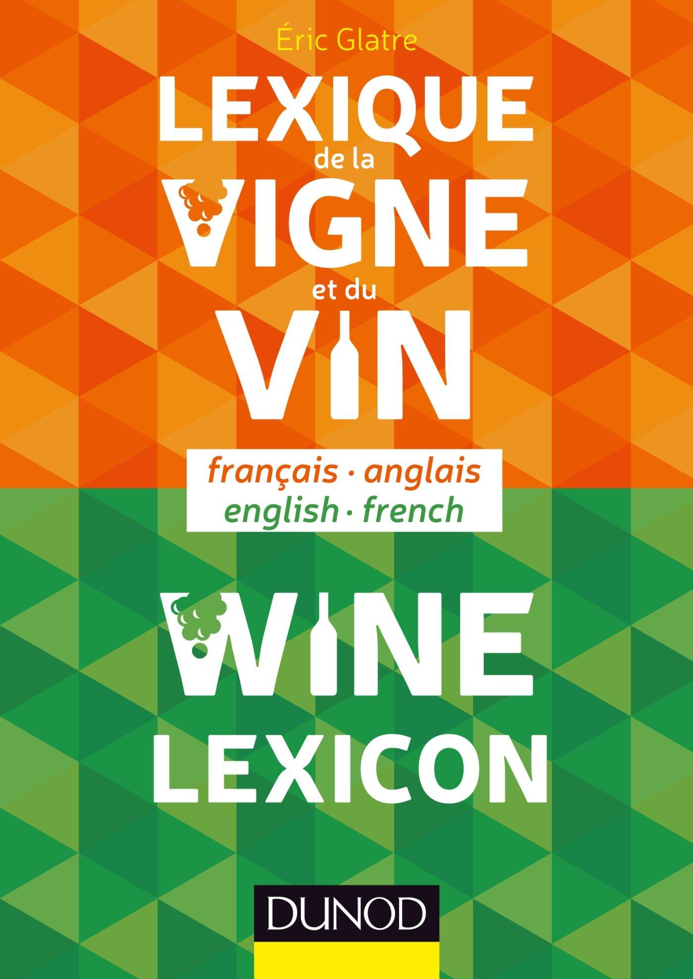Lexique De La Vigne Et Du Vin (English and French Edition)
