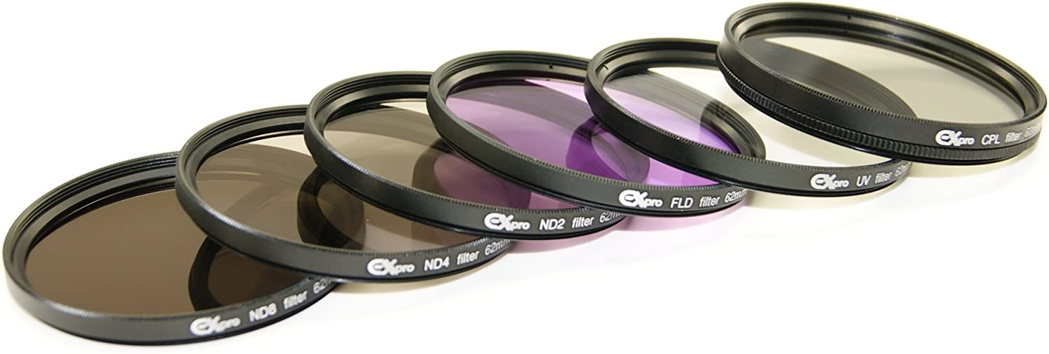 Ex-Pro 58mm CNC Machined Aluminium Stack Stacking Cap Protection for Lens Filter//Filters