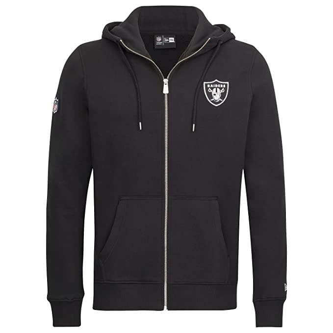 Sudadera capucha New Era – NFL Team App Fleece Oakland Raiders negro talla: S (