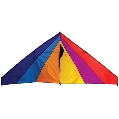 In the Breeze Rainbow Delta Kite, 6-Feet : Garden & Outdoor