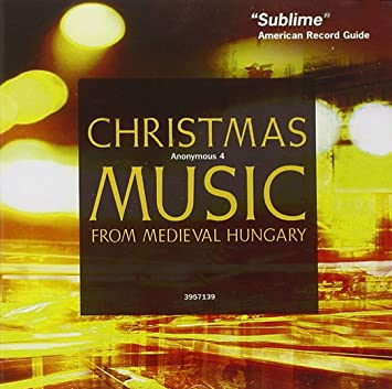 christmas music from medieval hungary - Amazon Christmas Music