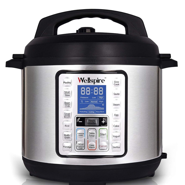 4. Wellspire Multi Cooking Pot Smart Electric Pressure Cooker