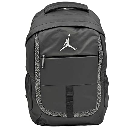 ca288b5e6f Image Unavailable. Image not available for. Color: Nike Air Jordan Black Laptop  Backpack Bag for Men ...
