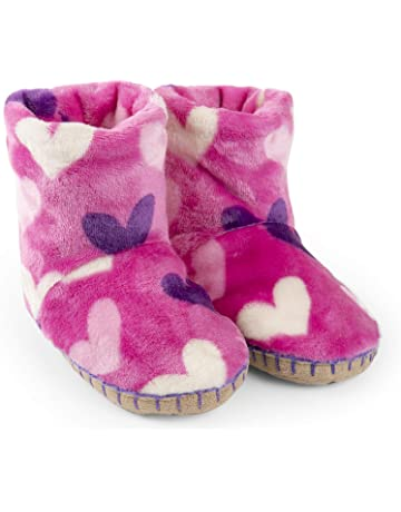 0f65b3d79d5a1 Amazon.co.uk | Girls' Slippers