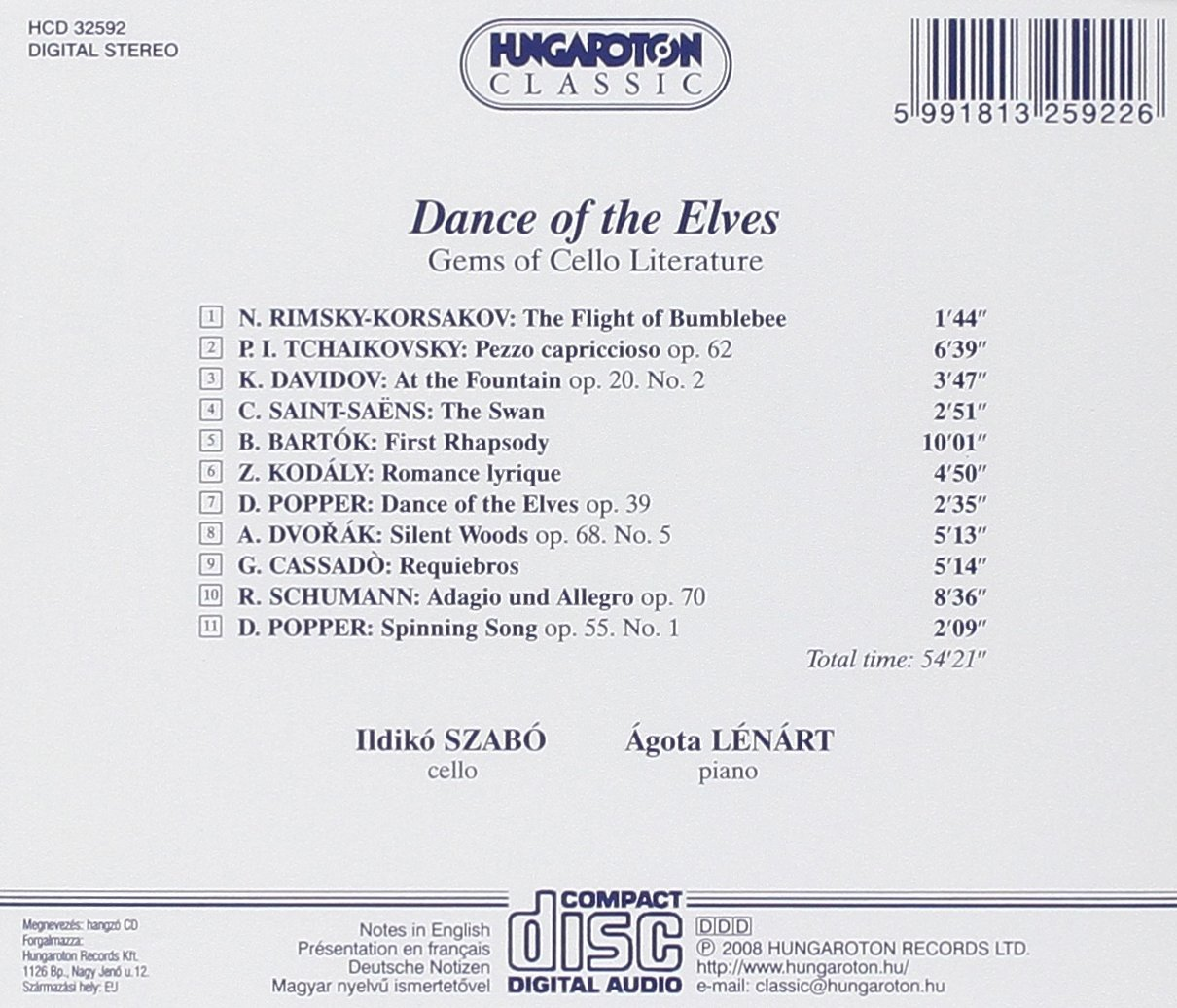 Dance Of The Elves: Ildiko Szabo/Agota Lenart, None: Amazon.es: Música