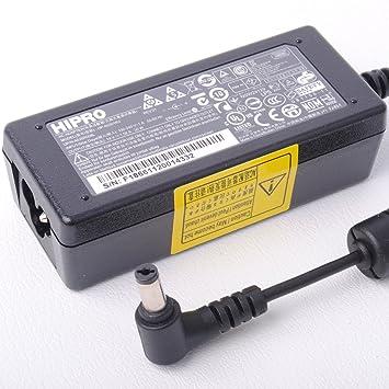 Hipro ordenador portátil de alimentación de CA Adaptador de cargador para Acer Aspire One A110 A150 D1X0 D2X0 531 Pro531 19v 1,58a 30w: Amazon.es: ...
