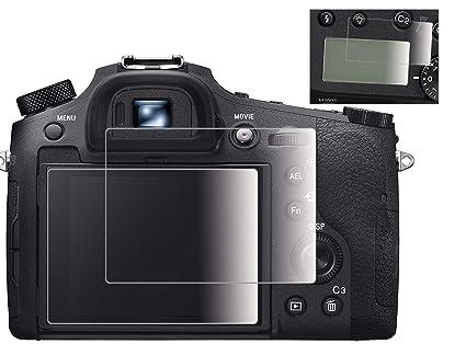 Amazon com : Fire-Rock Camera Screen Protector Compatible Sony DSC
