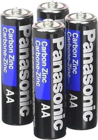 Amazon.com: Panasonic Heavy Duty Batería AA (4 unidades ...